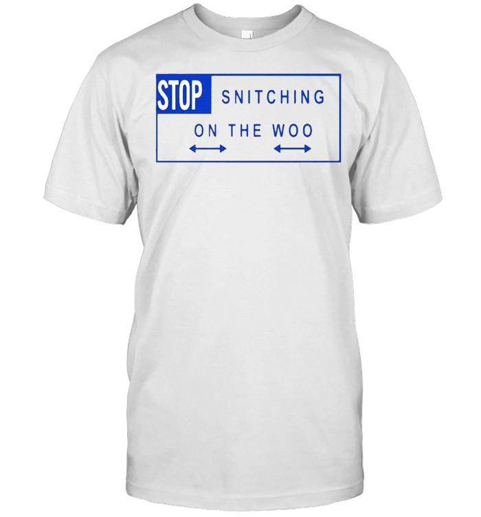 Stop snitching on the woo shirt Classic Men's T-shirt