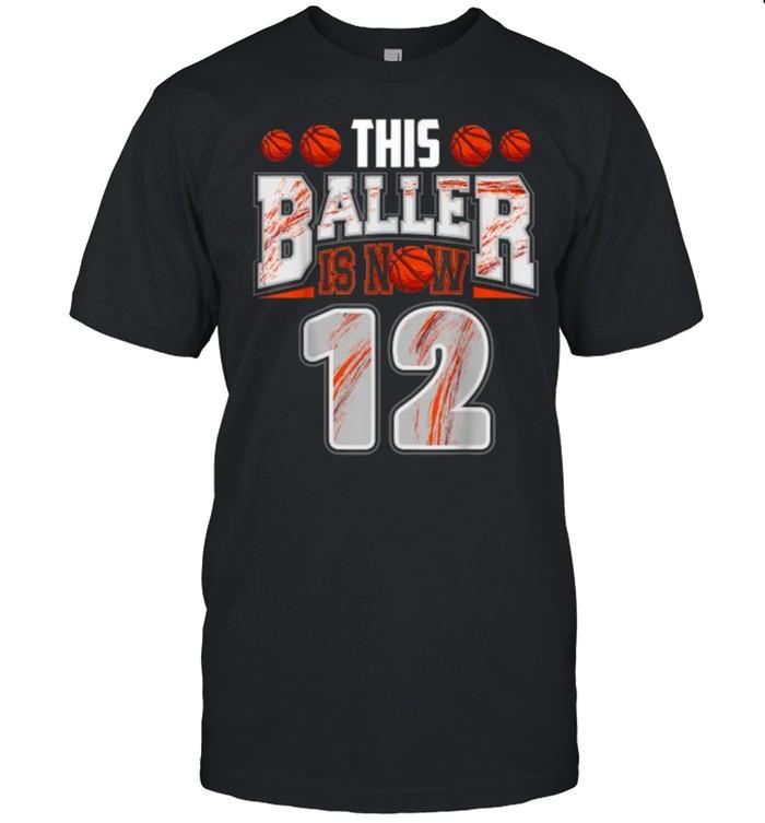 This baller is now 12 basketball shirt Classic Men's T-shirt