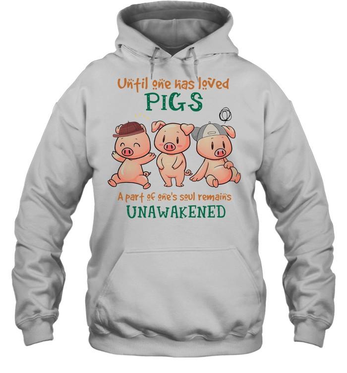 UNFIL ONE HAS LEVED PIGS UNAWAKENED SHIRT Unisex Hoodie