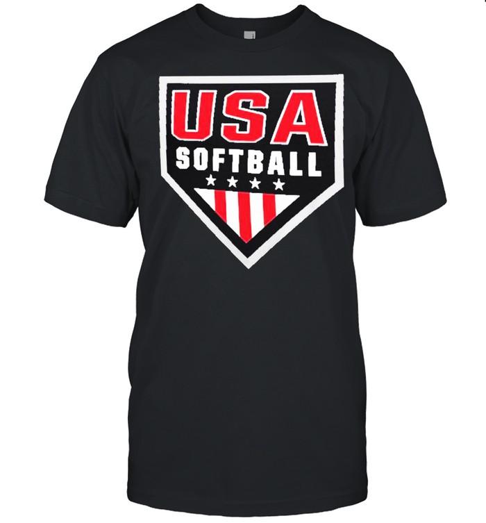 USA Softball Primary Logo shirt Classic Men's T-shirt