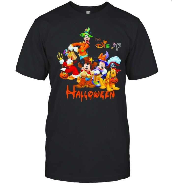 Disney halloween pumpkin shirt Classic Men's T-shirt