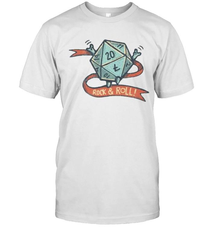 Rock n roll dice shirt Classic Men's T-shirt