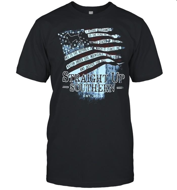 Straight Up Southern Est 2016 shirt Classic Men's T-shirt
