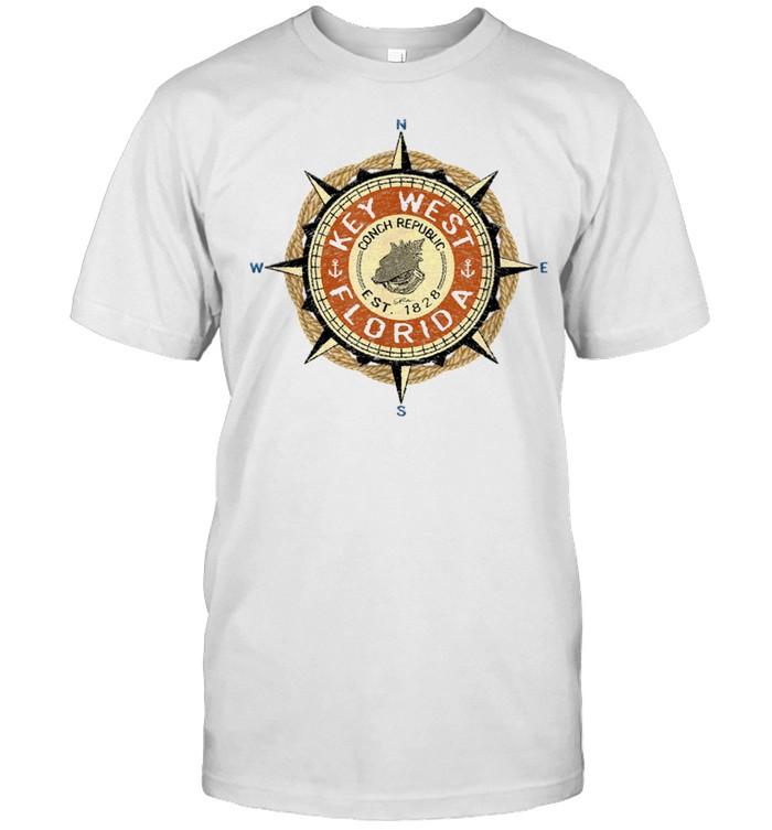 JCombs Key West, FL, Conch Republic shirt Classic Men's T-shirt