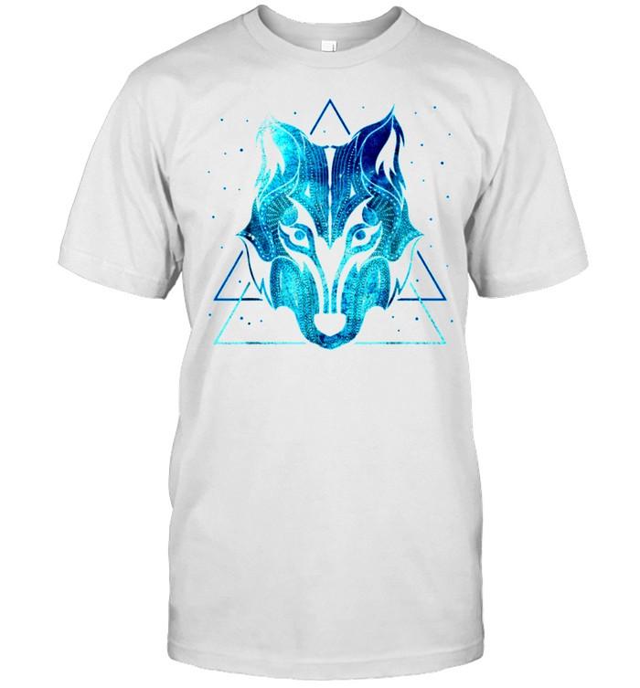 Wildlife Predator Triangle Animal Wolf shirt Classic Men's T-shirt