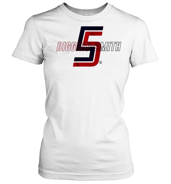 America's squad backcourt Skylar Diggins-Smith shirt Classic Women's T-shirt