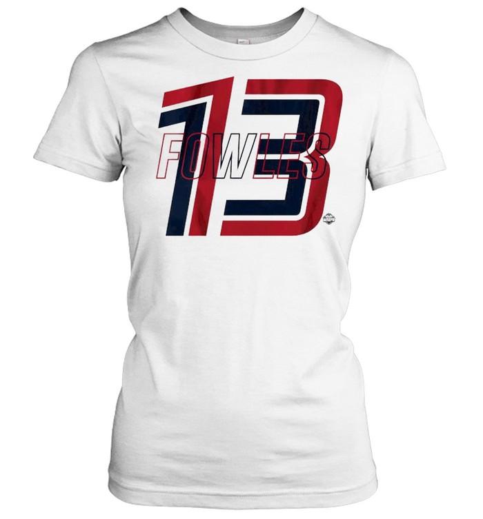 Americas squad frontcourt Sylvia Fowles shirt Classic Women's T-shirt