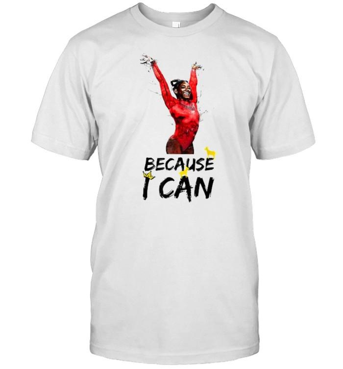 Biles Gymnastics Simone Because I Can GOAT T- Classic Men's T-shirt