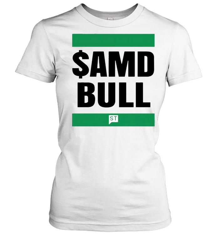 $AMD bull shirt Classic Women's T-shirt