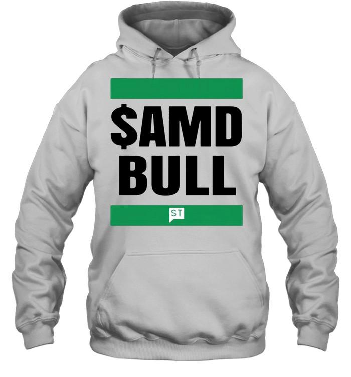 $AMD bull shirt Unisex Hoodie