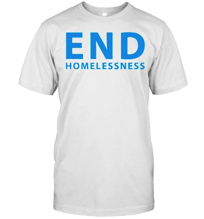 End homelessness shirt Classic Men's T-shirt
