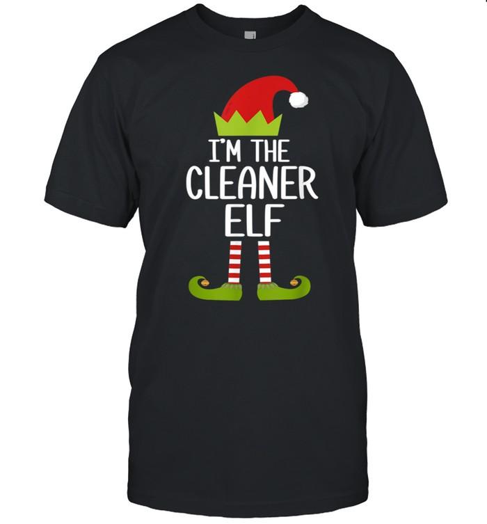 Family Matching Christmas Xmas I'm The Cleaner Elf shirt Classic Men's T-shirt