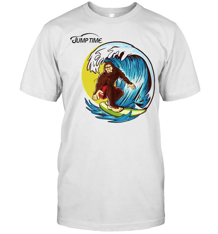 Surfing Bigfoot shirt Classic Men's T-shirt
