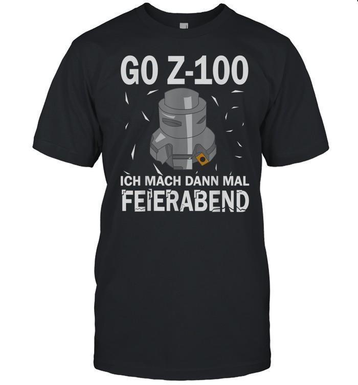 G0 Z100 CNC Milling Cutter's shirt Classic Men's T-shirt
