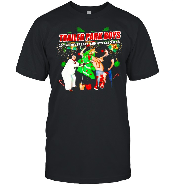 Trailer Park Boys 20th Anniversary sunnyvale Xmas shirt Classic Men's T-shirt