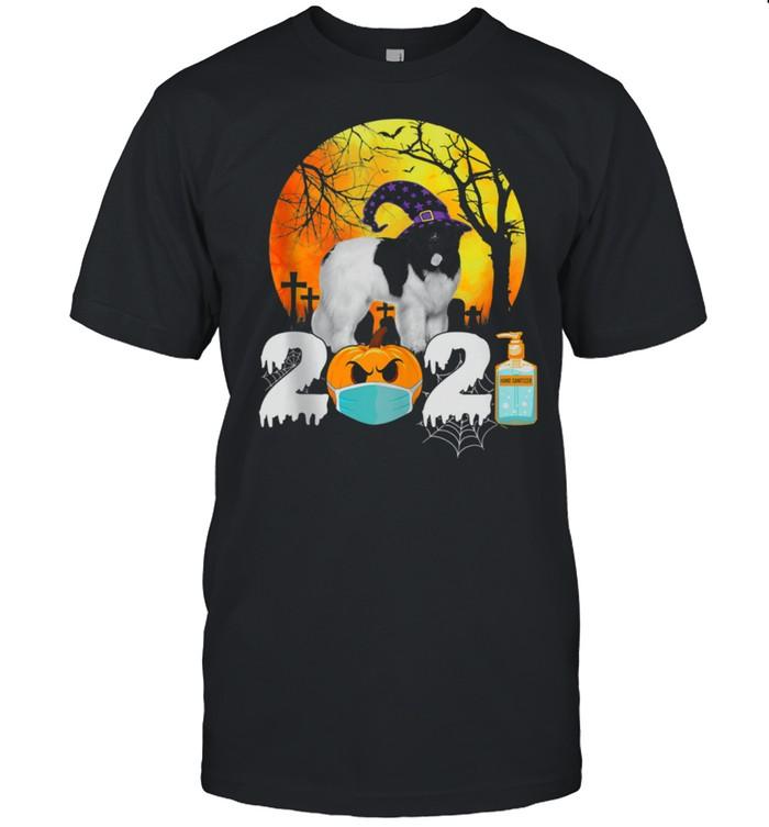 Costume 2021 Halloween Newfoundland Witch Hat shirt Classic Men's T-shirt