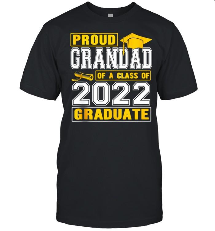 Proud Grandad Of A Class Of 2022 Graduate Senior 22 shirt Classic Men's T-shirt