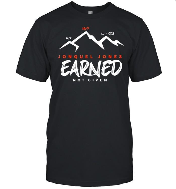 Jonquel Jones Mip Mvp All-Star Earned Not Given T- Classic Men's T-shirt