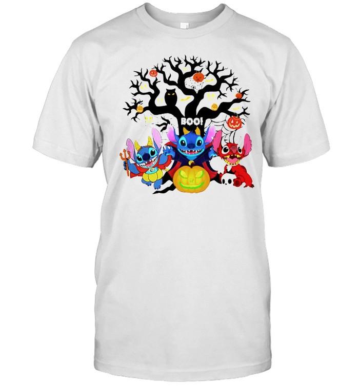 Stitch happy Halloween shirt Classic Men's T-shirt