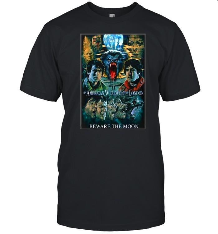 An American Werewolf In London Horror Halloween T-shirt Classic Men's T-shirt
