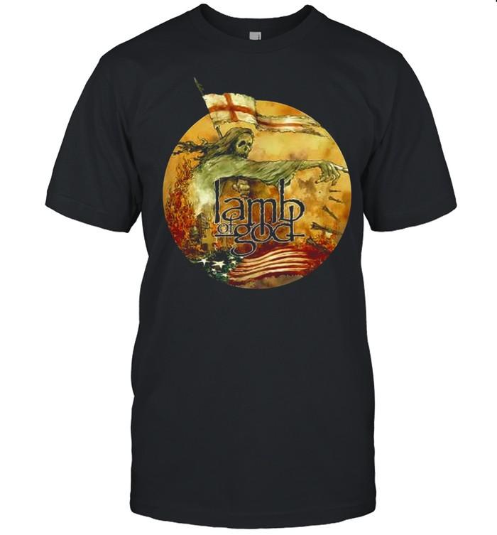 Lamb Of God Reaper T-shirt Classic Men's T-shirt