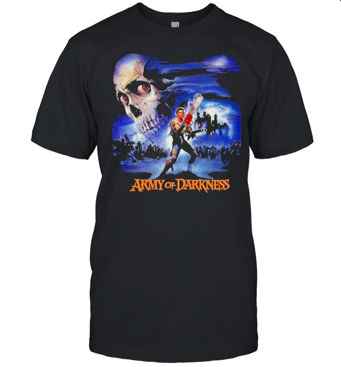 army of darkness movie poster shirt Classic Men's T-shirt