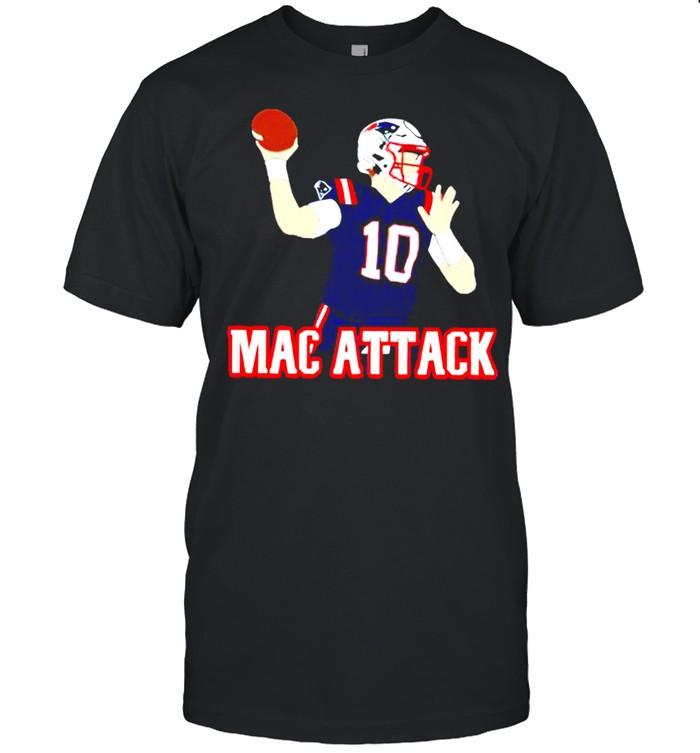 New England Patriots Mac Jones Mac Attack shirt Classic Men's T-shirt