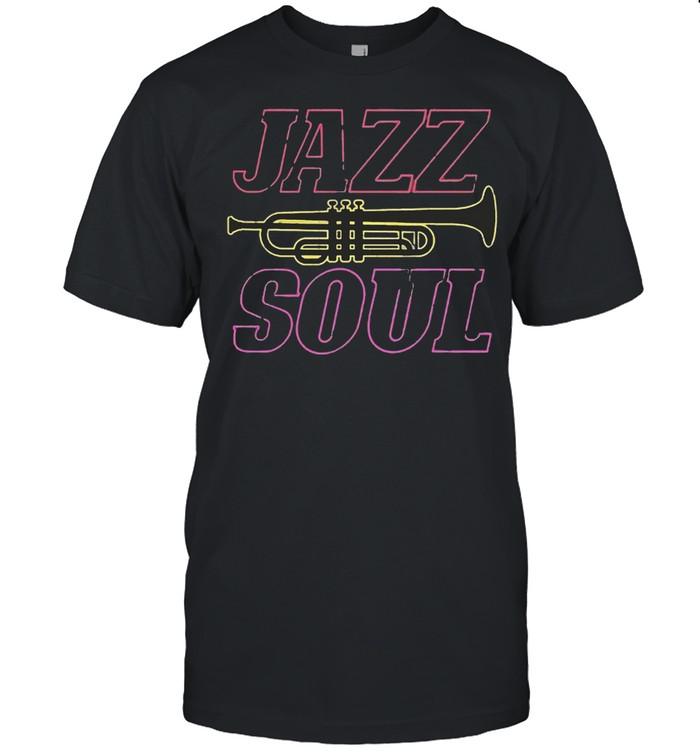 Jazz Soul Trumpet Player shirt Classic Men's T-shirt