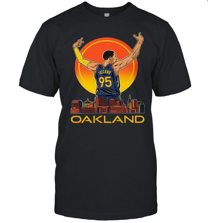 Juan Toscano-Anderson Oakland  Classic Men's T-shirt