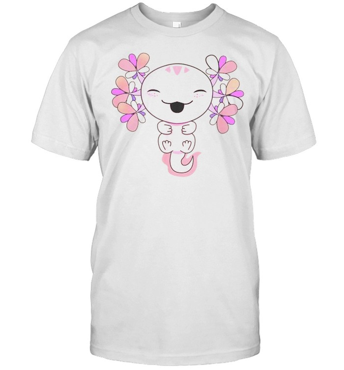 Axolotl  Kawaii Baby Salamander shirt Classic Men's T-shirt