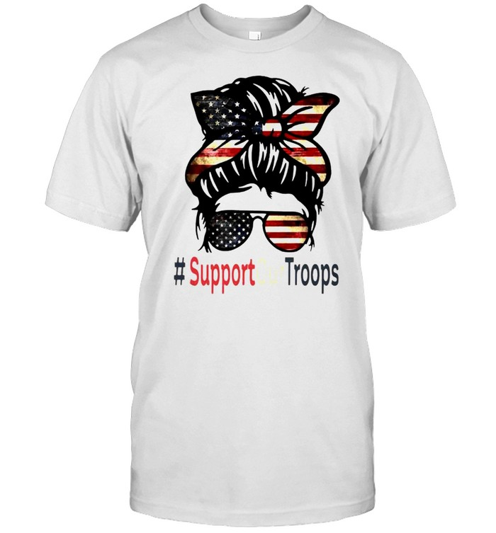 Trump girl support our troops shirt Classic Men's T-shirt