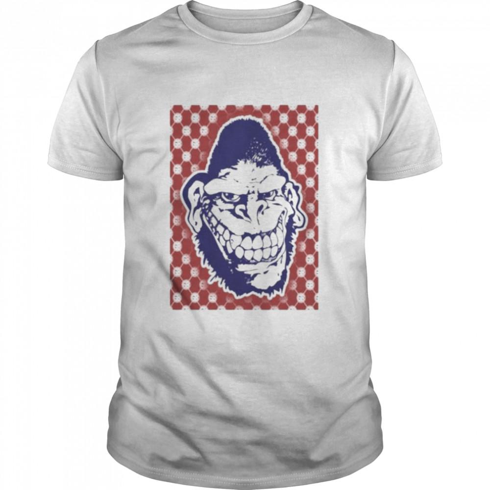 Gorilla biscuits pattern shirt