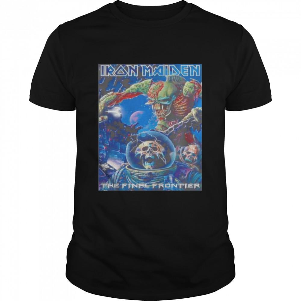 Iron Maiden the final frontier shirt