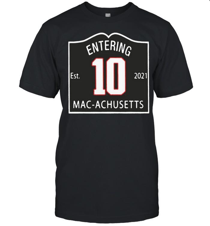 entering macachusetts shirt