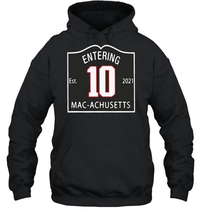 entering macachusetts shirt Unisex Hoodie