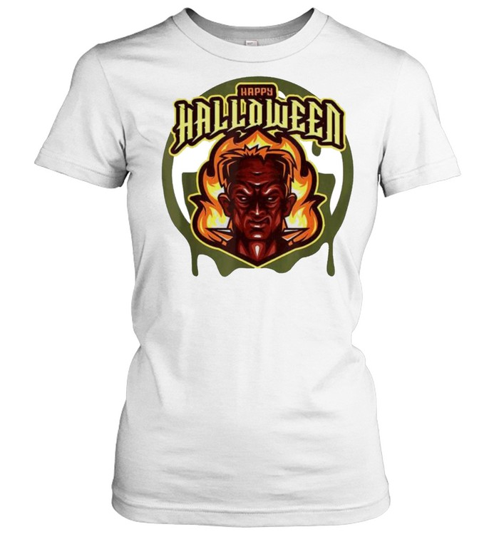 Evil Frank Happy Halloween shirt Classic Women's T-shirt