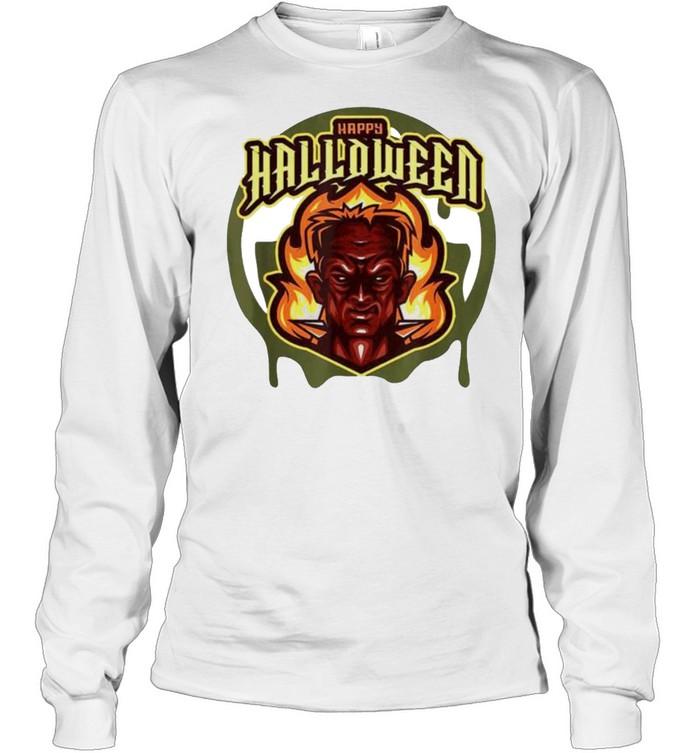 Evil Frank Happy Halloween shirt Long Sleeved T-shirt