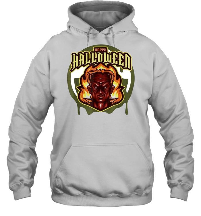 Evil Frank Happy Halloween shirt Unisex Hoodie
