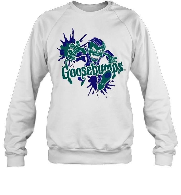 goosebumps slaapy shirt Unisex Sweatshirt