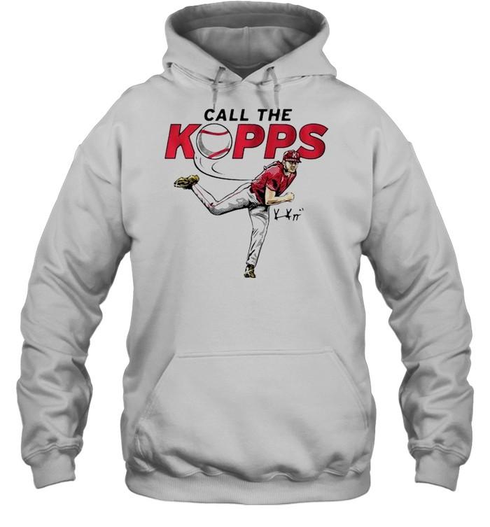 Kevin Kopps call the kopps signature shirt Unisex Hoodie