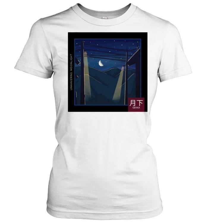 LoFi relax Moonlight Night Gekka shirt Classic Women's T-shirt
