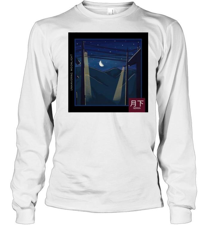LoFi relax Moonlight Night Gekka shirt Long Sleeved T-shirt