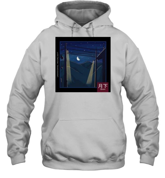LoFi relax Moonlight Night Gekka shirt Unisex Hoodie