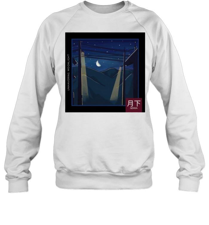 LoFi relax Moonlight Night Gekka shirt Unisex Sweatshirt