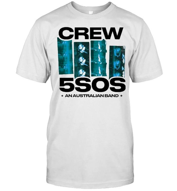 5sos we need crew white shirt