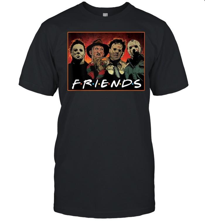 Friends_HorrorHalloween_MichaelMyers_ScaryMoviesFunny shirt