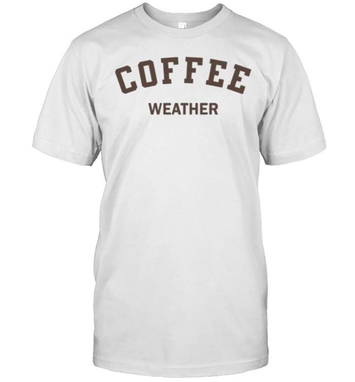 Coffee weather shirt Classic Men's T-shirt