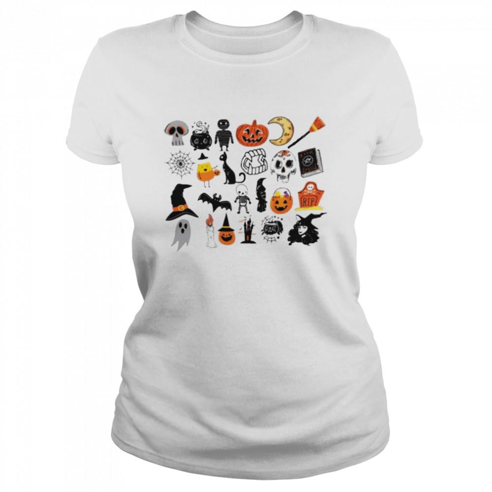 Its the little things halloween shirt Classic Women's T-shirt