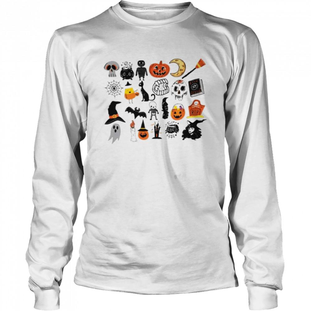 Its the little things halloween shirt Long Sleeved T-shirt