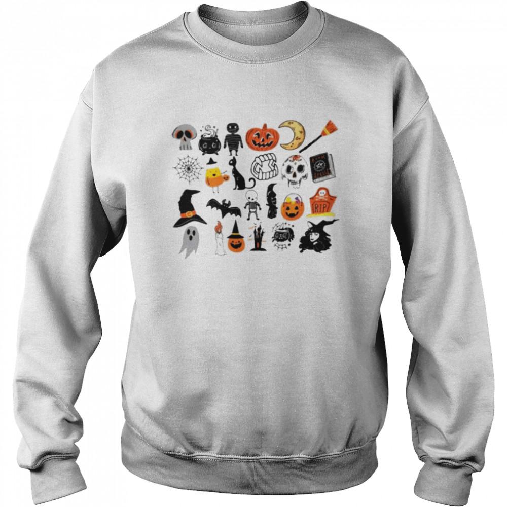 Its the little things halloween shirt Unisex Sweatshirt